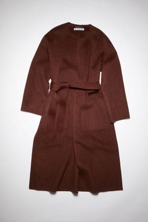 Acne Studios Coats - FN-WN-OUTW000482 Collarless coat
