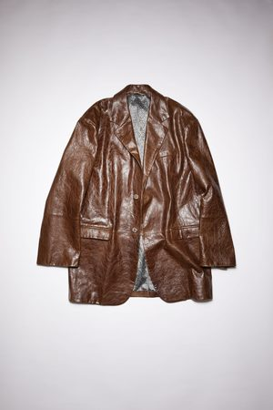 Acne Studios FN-MN-LEAT000160 Leather suit jacket