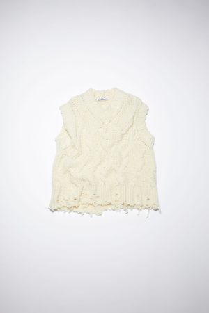 Acne Studios FN-WN-KNIT000379 Chunky sweater vest