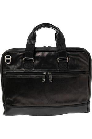 Tumi Leather Alpha Bravo Andrew Slim Briefcase