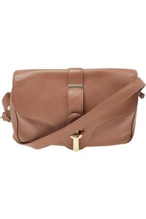 Balenciaga Women Shoulder Bags - Leather Tube S Flap Crossbody Bag