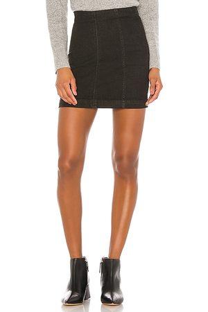 Free People Women Denim Skirts - Modern Femme Denim Skirt.
