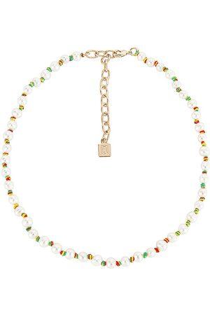 Dannijo Normandy Necklace in White.
