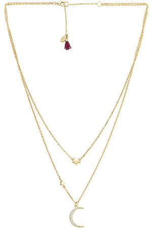 Shashi Eclipse Necklace in Metallic .