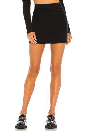 MONROW Sweater Mini Skirt in .
