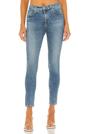 AG Adriano Farrah Skinny Ankle Jean in Blue.