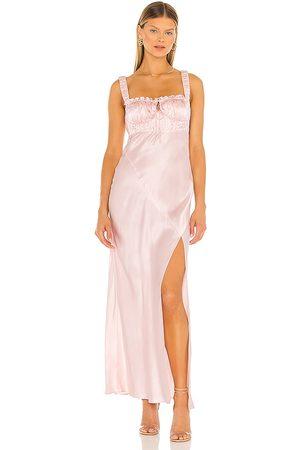 Nicholas Women Midi Dresses - Nina Dress in Blush.