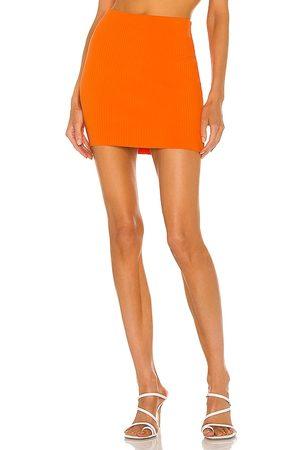 Cotton Citizen Women Mini Skirts - X REVOLVE Ribbed Mini Skirt in .