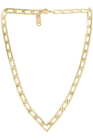 Jenny Women Necklaces - Heart Chain Necklace in Metallic .