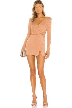 NBD Katia Mini Dress in Nude.