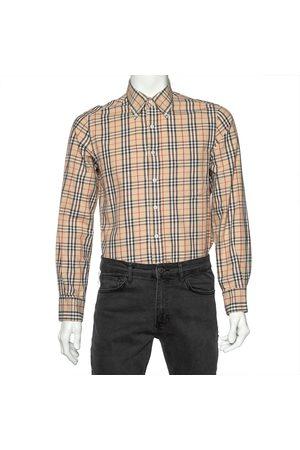 Burberry Nova Check Cotton Long Sleeve Shirt M