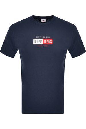 Tommy Hilfiger Men T-shirts - Timeless Logo T Shirt Navy