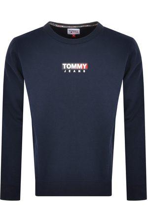 Tommy Jeans Logo Badge Sweatshirt Navy
