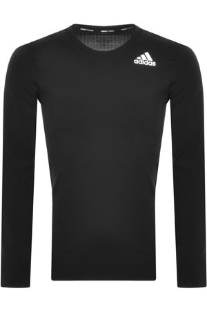 Adidas Originals Adidas Training Long Sleeve Techfit T Shirt