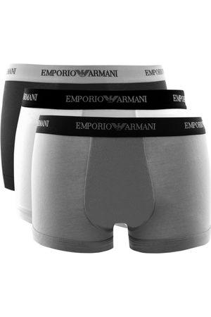 Armani Emporio Underwear 3 Pack Boxer Trunks