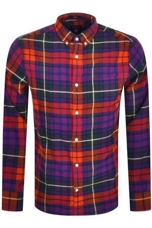 GANT Flannel Check Long Sleeve Shirt