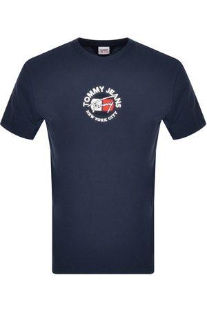 Tommy Hilfiger Timeless Logo T Shirt Navy