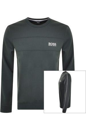 HUGO BOSS Men Sweatshirts - BOSS Bodywear Lounge Sweatshirt Khaki