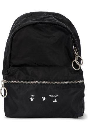Off-White Mini logo nylon backpack