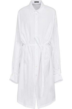 Ann Demeulemeester Lia cotton poplin shirt dress