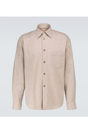Acne Studios Donegal long-sleeved shirt