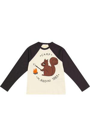 Mini Rodini Camp M.Rodini printed cotton jersey top