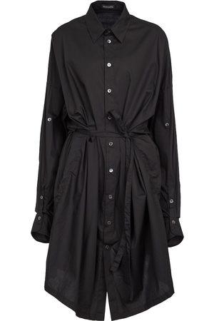 ANN DEMEULEMEESTER Women Casual Dresses - Lia cotton poplin shirt dress