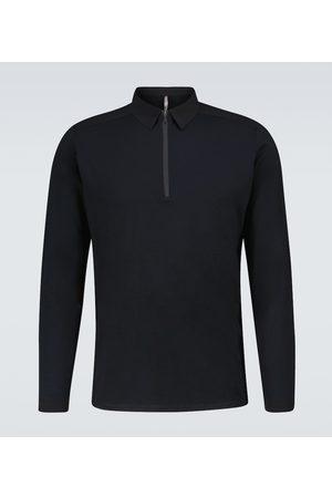 Veilance Frame long-sleeved polo shirt