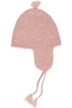 Bonpoint Baby pompon wool knit beanie