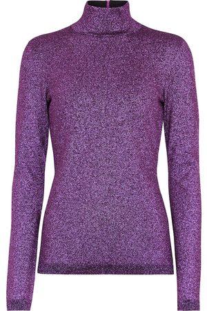 Stella McCartney Metallic turtleneck sweater