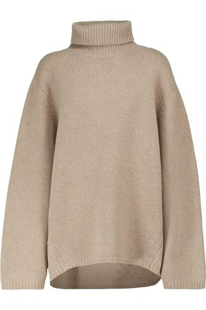 Totême Turtleneck wool and cashmere sweater