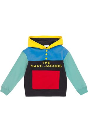 The Marc Jacobs Colorblock hooded sweatshirt