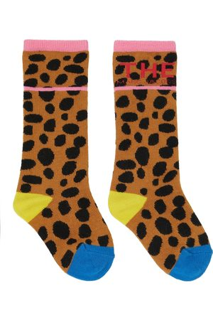 The Marc Jacobs Leopard printed socks