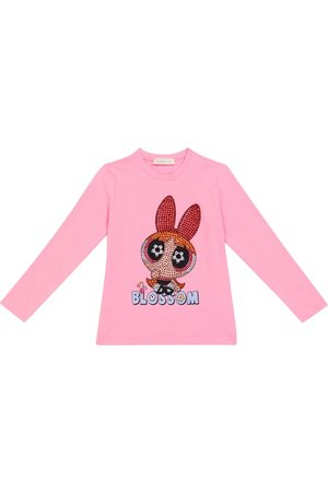 MONNALISA Powerpuff Girls embellished sweatshirt