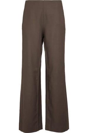 Acne Studios Wool twill wide-leg pants