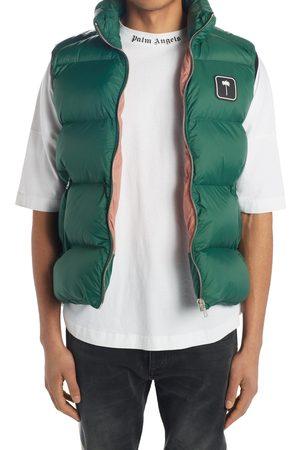 Palm Angels Men Gilets - Men's Quilted Puffer Vest