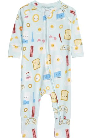 Loulou Lollipop Infant Boy's Kids' Fitted Organic Cotton Blend One-Piece Pajamas