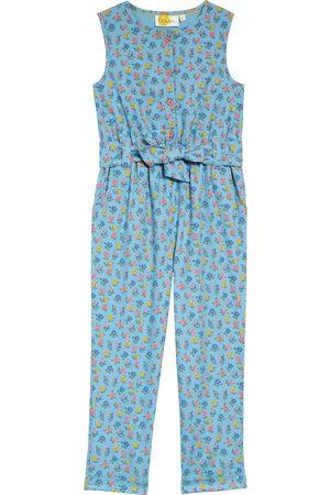 Boden Girl's Kids' Floral Woven Jumpsuit