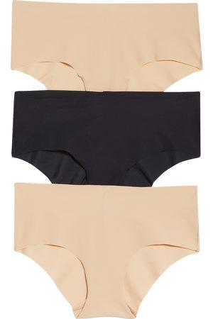 True & Co. Women's True Body Assorted 3-Pack Hipster Briefs