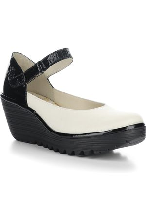 Fly London Women's Wedge Mary Jane Loafer