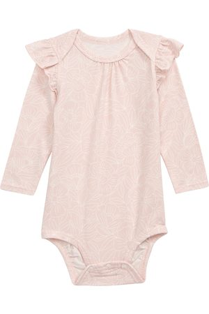 Loulou Lollipop Infant Girl's Ruffled Long Sleeve Bodysuit