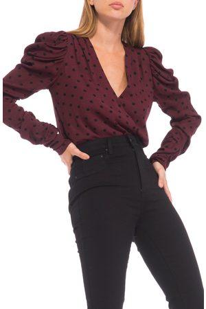AFRM Women's Danna Puff Long Sleeve Bodysuit