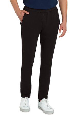 Bugatchi Men's Comfort Stretch Cotton Pants