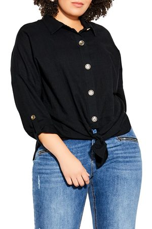 City Chic Plus Size Women's Urban Explorer Cotton Top