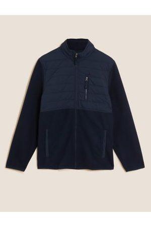 Marks & Spencer Quilted Fleece Jacket