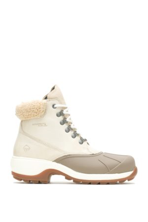 Wolverine Women Outdoor Shoes - Women's Frost Insulated Boot Fog Suede, Size 6 Wide Width