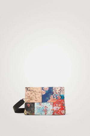 Desigual Sling bag patch flowers