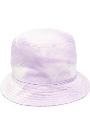 We11done Men Hats - Embossed-logo bucket hat