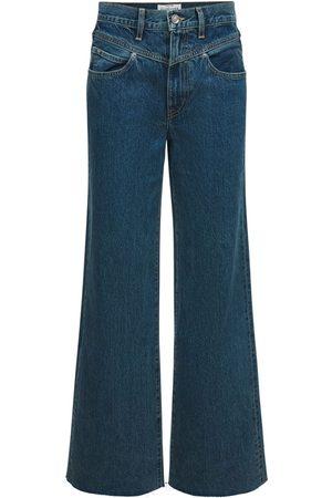SLVRLAKE Grace High Rise Cotton Jeans