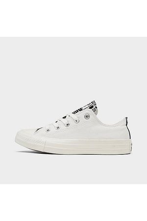 Converse Women Casual Shoes - Women's Chuck Taylor All Star Low Crocodile Print Casual Shoes Size 8.0 Canvas